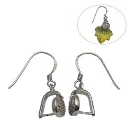 Wholesale Pinch Bail Earring Hooks - Beadsnice 925 Sterling Silver Earring Components Pinch Bail Earring Hook Earwire Handmade Jewelry Findings Wholesale ID 34556