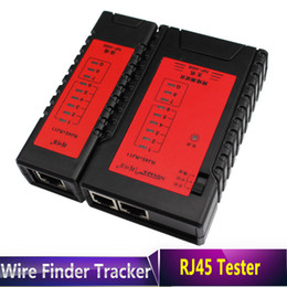 Wholesale Rj45 Telephone Cable - High Quality Network   Telephone RJ11   RJ45 Cable Tester - Upgraded design with Fast Slow Two Scan Models