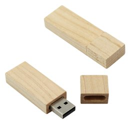 Wholesale 256 Usb Pen Drive - Rectangle Memory 4GB 8GB 16GB 2GB Pendrive U-Disk Flash Drive Stick Pen Wood Designed
