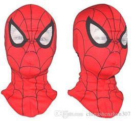 Livraison gratuite, Cosplay enfants et adultes Spiderman masque / Spider-Man gants Cosplay Halloween Party Supplies ? partir de fabricateur