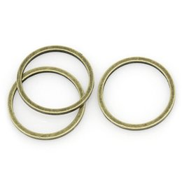 "Wholesale Antique Copper Jump Rings - Copper Closed Soldered Jump Rings Round Antique Bronze 12.0mm( 4 8"") Dia, 9 PCs 2015 new"
