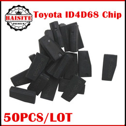 Wholesale Toyota Prado Wholesale - 50pcs lot Free shipping Toyota 4D68(B2) Chip Carbon Fit For Toyota Prado Lexus Transponder Chip with best quality in stock