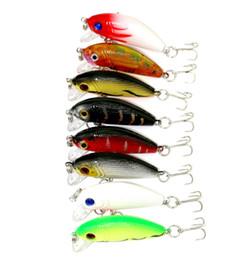 Wholesale Trout Fishing Hard Baits - Wholesale 16pcs Swimbaits Fishing bait 5CM 3.6G 10#hooks fishing tackle lure for trout Classical Minnow bass hard Plastic japan carbon hooks