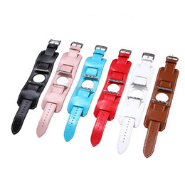 Wholesale fashion bracelet connectors - ZLIMSN Cuff Bracelet 38 42mm 3 in 1 Genuine Leather Wristwatch Band Strap Belt with Connector for iwatch Apple Watch I48. Sample