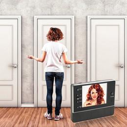 """Wholesale Door Eye Camera Wireless - 3.5"""" TFT LCD Screen Digital eye Viewer Video Camera Door Phone,doorphone monitor Speakerphone intercom Home Security Doorbell"""