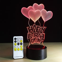 Gift Heart Happy Birthday Rabatt 1 Stuck Mit Herz Frame Touch Screen 3D Illusion