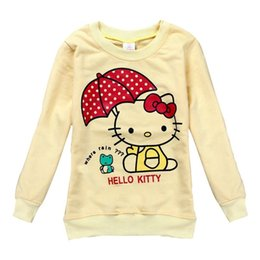 Wholesale Nova Kids Clothing - Wholesale- new arrival children clothing casual girls t shirt spring autumn long sleeve t shirts nova kids clothes girls t shirts F6602D