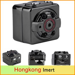 Wholesale Hid Infrared - SQ8 Mini Camera HD 1080P 720P Espia DV Voice Video Recorder Infrared Night Vision Digital Small Camera Hidden Camcorder