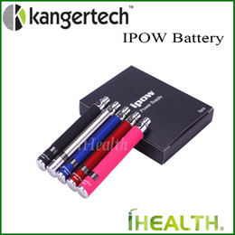 Wholesale Ego Vv Lcd - Kanger IPOW Battery 650mAh Capacity with LCD Screen eGo Thread Battery 100% Original Kanger IPOW VV Battery