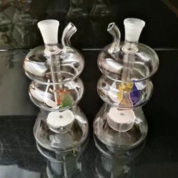 2019 garrafas de vidro especiais Nova garrafa de água de vidro de filtro de núcleo de areia em forma especial garrafas de vidro especiais barato