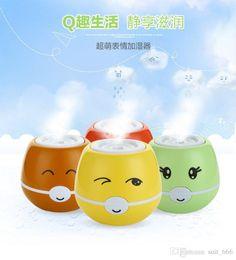 Wholesale Anion Power - Super fog amount of mobile power usb humidifier Ai Hu Ba doll cartoon anion humidifier purifier