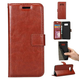 Wholesale Galaxy Note Leather Pouch - For iPhone 7 5S 6 6S Plus Galaxy S6 S7 Edge Note 5 7 Wallet PU Leather Case Cover Pouch With Photo Frame ShockproofCases