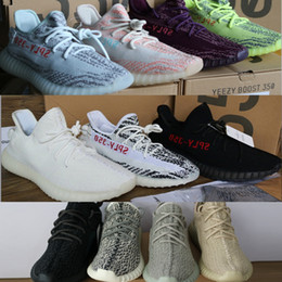 Wholesale Brown Oxfords - Newest 350 boost SPY 350 V2 V1 boost Semi Frozen beluga 2.0 running shoes Sneakers Kanye west 350 Oxford Tan pirate black