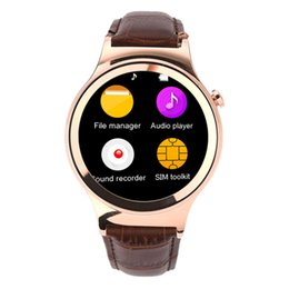 Wholesale Car Sim Card - Bluetooth Smart Watch T3S WristWatch SIM TF Card Heart Rate UV Detection Black car
