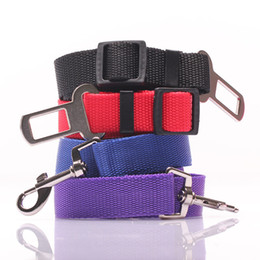 Wholesale Security Harness - High Quality Universal Nylon Dog Seat Belt Seatbelt Harness Leash Clip Pet Dog Car Belt Security Keep Your Dog Safe When Drives