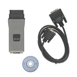 Wholesale Professional Tech2 - 2016 Hot sale Professional TECH2 COM for OPEL OBD2 Code Scanner Diagnostic Tool