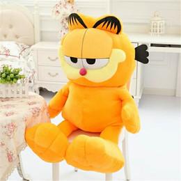 Wholesale Garfield Stuffed - Hot Selling! 1pcs 8'' 20cm Plush Garfield Cat Plush Stuffed Toy High Quality Soft Plush Figure Doll Free Shipping