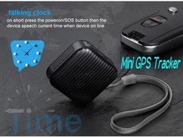 Wholesale Hidden Tracks - Mini Wearable GPS Tracker A18 hidden gps tracker for personal kids pets cats dogs elders Car Vehicle GSM GPRS Tracking Device Ann