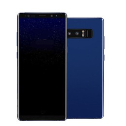 Wholesale India Single - Goophone note 8 note8 6.3inch smartphone MTK6580 Quad Core Android 7.0 1G 8GB 1280*720 Show 128GB fake 4g lte unlocked cellphone