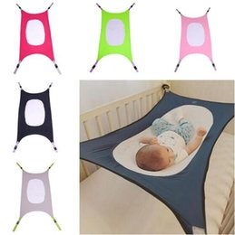 Wholesale Newborn Hammock - Safety Bed Baby Hammock Beds Infant Newborn Detachable Portable Sleeping Bed 5 Colors Christmas Gift DHL Free Shipping