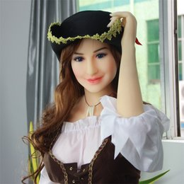 Wholesale Real Sex Inflatable Silicone Dolls - 100% TPe solid sexy doll with metal skeleton real solid silicone sex dolls adult love dolls Not inflatable sex dolls for men