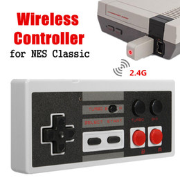 Wholesale Button Gamepad - For NES Classic Mini Edition 2.4GHz Wireless Game Handle Controller Gamepad For Nintendo For NES Mini With Turbo Button Joystick