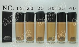Wholesale Army Face - New Makeup Face NC Colors Series Matchmaster Foundation Liquid SPF15!35ml(50PCS LOT)