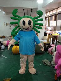 Wholesale Custom Crab Costume - 2017 Crab mascot costume cute cartoon clothing factory customized private custom props walking dolls doll clothing