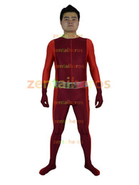 Wholesale Clover Movie - Totally Spies Clover Red lycra Superhero Costume Halloween Party Cosplay ZenTai suit