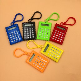 Wholesale Purpose Test - New Mini Calculator Student Test Calculator Cookies Keychain Calculator Promotional gifts