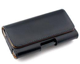 Cinto cintos casos de telefone celular on-line-2015 novo suave / lichee padrão bolsa de couro belt clip bag para asus zenfone 2 laser ze500kl telefone casos acessório do telefone celular