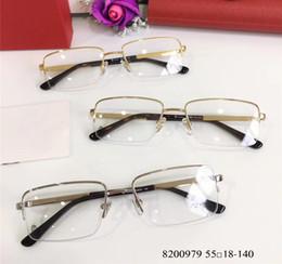 28f6cdc9047e Discount mens rimless eyeglasses frames - mens Square Gold Eyeglasses  Glasses Half Frame Eyewear GOLD OPTICAL