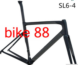 Wholesale Carbon Road Bicycle 48cm - 830g frameset T1000 frame+seatpost+frok+headset+ clamp Camouflage color bicycle carbon frame K11 color black white bicycle carbon frame
