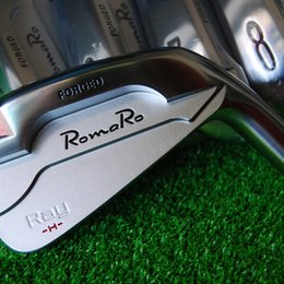 Wholesale Iron Head Golf Forged - Hot sale New mens Golf Heads RomaRo Ray H Forged Golf irons Heads 4-9P Irons Golf clubs heads no shaft Free shipping