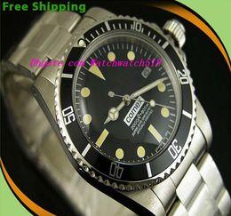 Wholesale Vintage Auto Watch - Luxury Wristwatch Vintage #5512 Asia Movement Automatic Mechanical Movement Fashion Brand Men's Watch Wristwatch