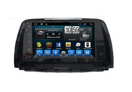 Wholesale Mazda Android Radio - Big Screen Autoradio Multimedia Player Mazda 6 Car Dvd Radio Navigation with GPS Bluetooth Android Quad Core