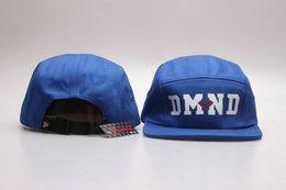 Wholesale Blue Diamond Flats - Diamond 5 Panel cap Snapback Hats,Adjustable hip hop baseball caps drop shipping