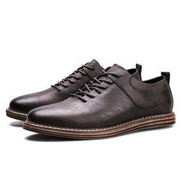 Wholesale Open Shoes Trend - 2017 new listing men's autumn fashion casual men's shoes British leather shoes men trend