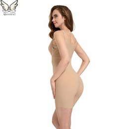Wholesale Lady Bodysuits Lingerie - Wholesale- Slimming Underwear bodysuit Women Lingerie hot Shaper Slimming Building Underwear butt lifter Ladies Shapewear Body Shaping
