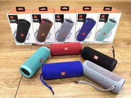 Wholesale Flips Speakers - 100% Brand New Flip3 Portable Wireless Speakers Subwoofers Bluetooth Amplifier Super Deep Bass Big Sound HIFI flip 3 Stereo Loudly Computer