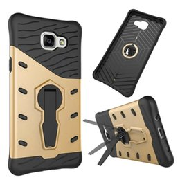Wholesale Durable Screen Protector - Hybrid Sniper Armor Case For Samsung Galaxy A5 2016 A510 Hard Shockproof With 360 Degrees Rotation Durable Cover W Screen Protector Film
