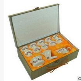 Wholesale China Ceramic Factory - Factory direct sale upscale gift tea set wholesale ceramic kung fu tea sets tea tray of a complete set of special custom