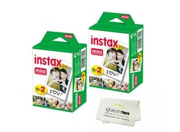 Wholesale Polaroid Instant Camera Film - 2017 New High quality Instax White Film Intax For Mini 90 8 25 7S 50s Polaroid Instant Camera DHL free
