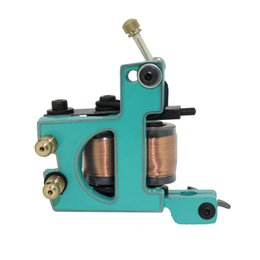 Brand New Profession 10 Wrap Coils Tattoo Machine Liner 4 Colorido Opcional Art Tattoo Supply TM3203 desde fabricantes