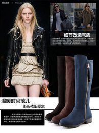 Wholesale United Chocolate - Knight boots Fashion boots Europe and the United States and Russia popular boots Quality assurance Exempt postage