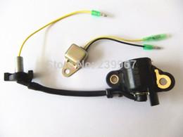 Wholesale Honda Sensor Parts - Oil level switch w  diode for Honda GX120 GX140 GX160 GX200 5.5HP 6.5HP engine free shipping alert sensor unit 15510-ZE2-033