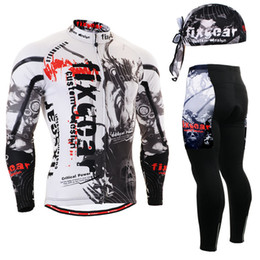 Wholesale Track Suits Jackets - Wholesale-Life on Track Men's Race Anti-Sweat Long Sleeve Cycling Jersey Jacket 3D Padded Pants Sets Breathable Bike Bicycle Suits
