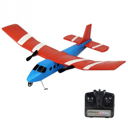 Wholesale Rc Foam Airplane - Wholesale- FX-805 Mini Colorful Remote Control RC Aircraft Foam AirPlane Gift for Kids Over 3 Years