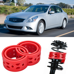 Wholesale Rear Suspension Springs - 2pcs Size B Rear Shock Suspension Cushion Buffer Spring Bumper For Infiniti G25