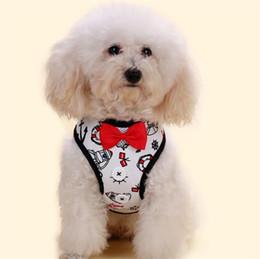 Wholesale Poodle Accessories - Dog Supplies Harnesses Pet Poodle Pomeranin Breathable Harness and Leash Set Puppy Vest Pets Chest Strap